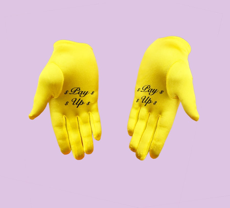 Image of 'Pay Up' Gloves