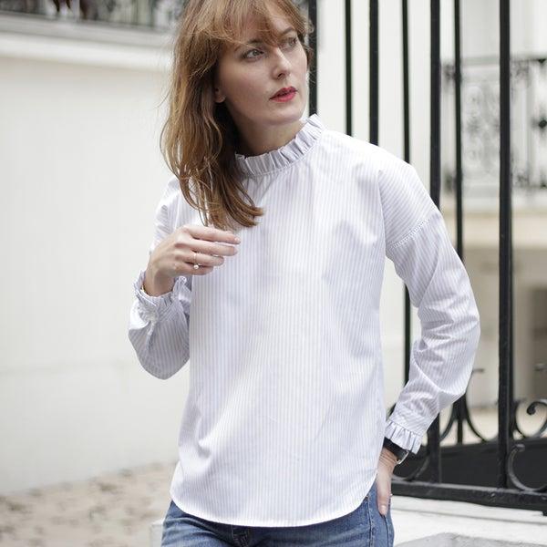 Blouse Claudia rayures - Maison Brunet Paris