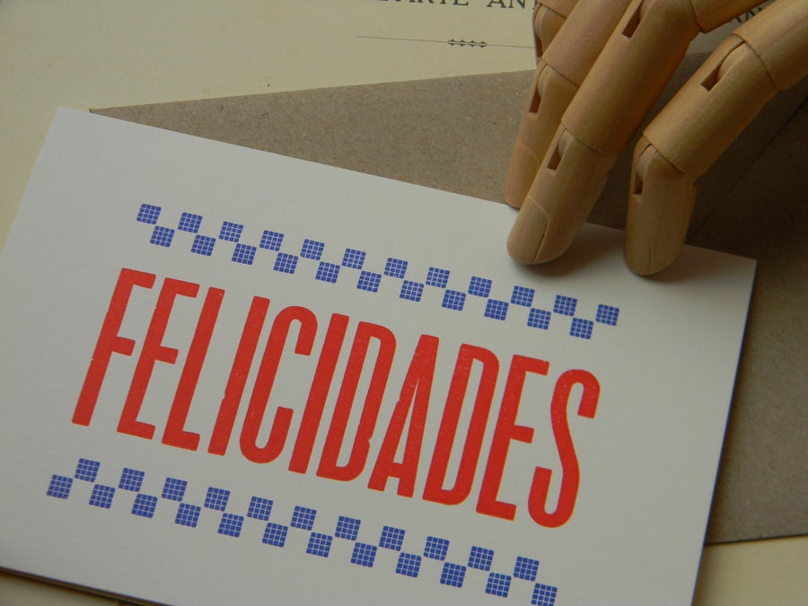 Image of Hello there, Felicidades