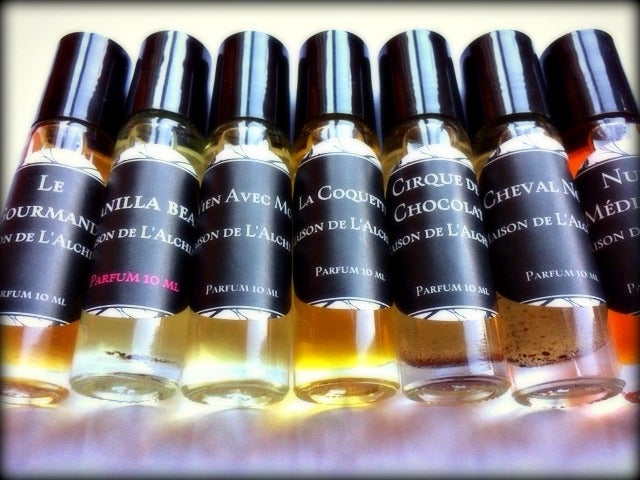Image of Natural Perfume Collection - Vanilla's, Amber & Spices