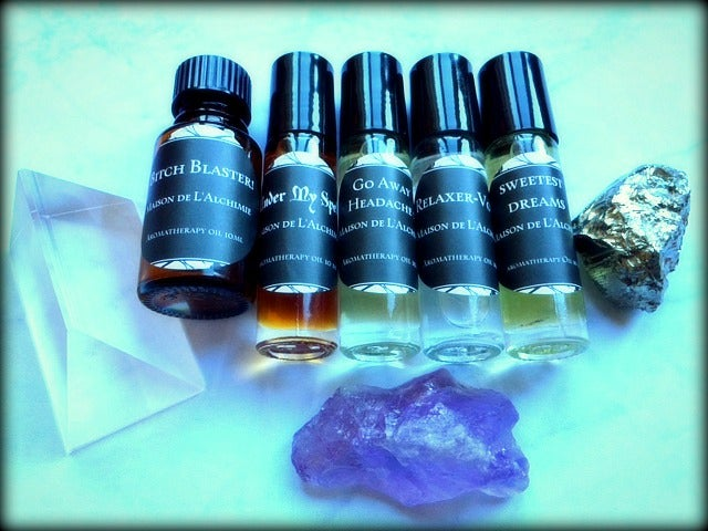 Image of Aromatherapy Therapeutic Blends