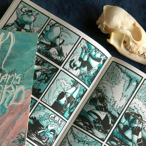 Image of Orin and the Dead Man's Sword - Risographed Comic