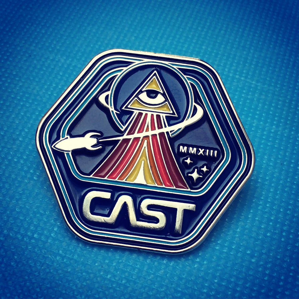 Image of CAST Wanderers Club Enamel Pin