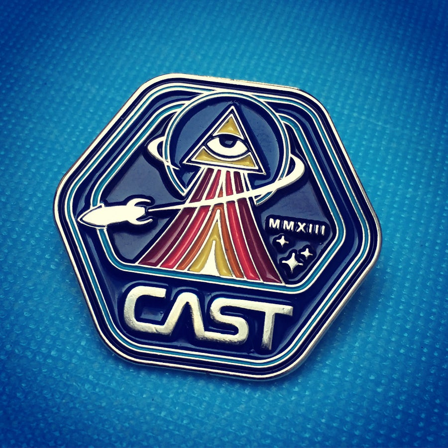 Image of CAST Wanderers Club Enamel Pin