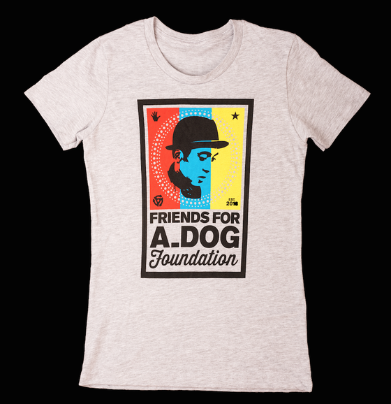 Image of Women's Friends For A_Dog Foundation Tee