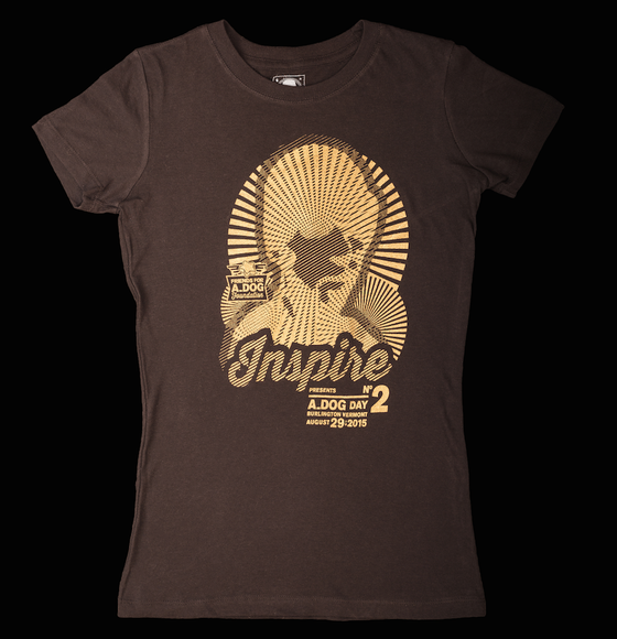 Image of Women's 2015 A_Dog Day Tee Shirt INSPIRE