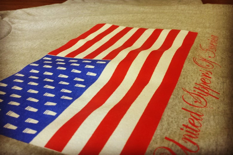 "Image of Siplean ""United Sippers of America"" tee"