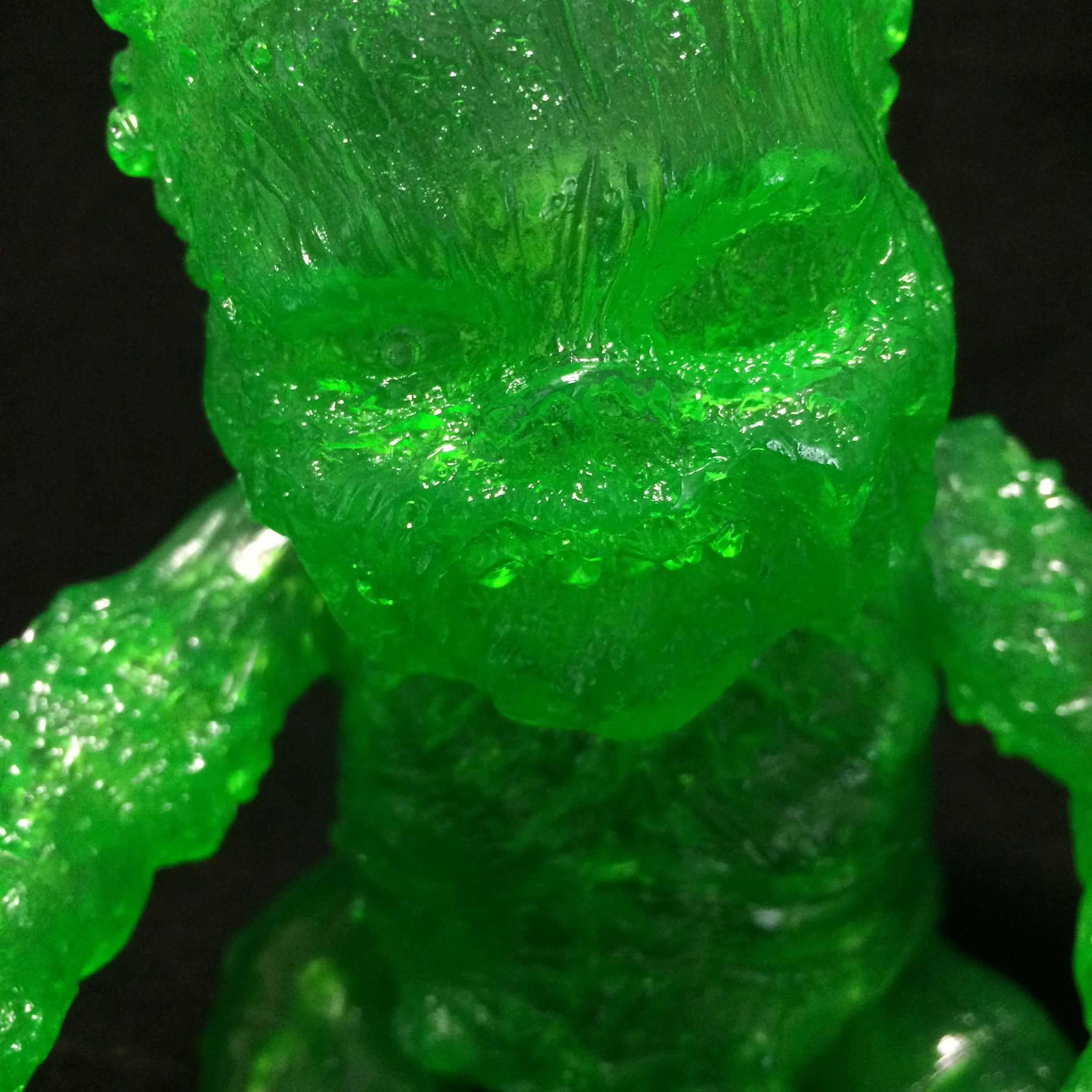 gergle autopsy baby blank slime green clear    miscreation toys