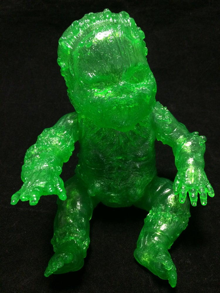 Image of Gergle Autopsy Baby Blank Slime Green Clear