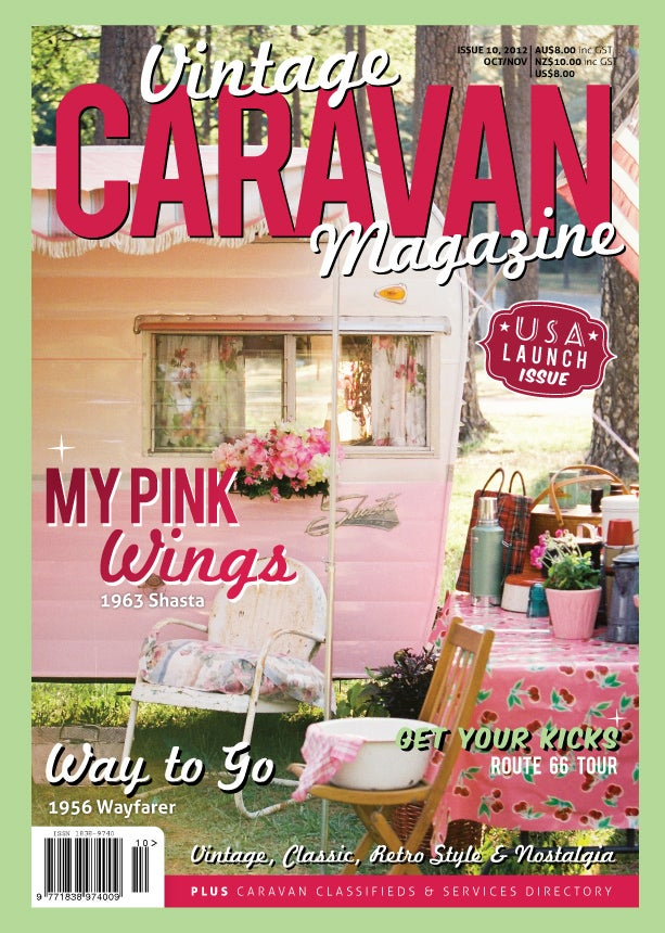 Image of Issue 10 Vintage Caravan Magazine