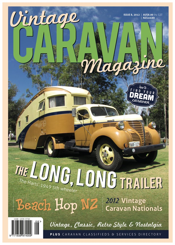 Image of Issue 8 Vintage Caravan Magazine