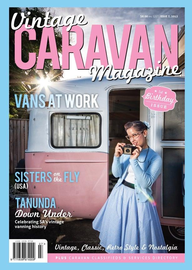 Image of Issue 7 Vintage Caravan Magazine