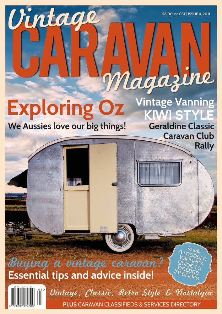 Image of Issue 4 Vintage Caravan Magazine