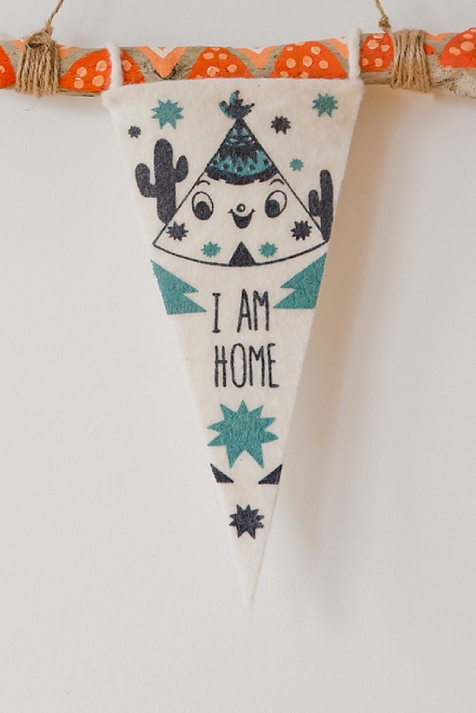 Image of I am Home CLUB FLAG