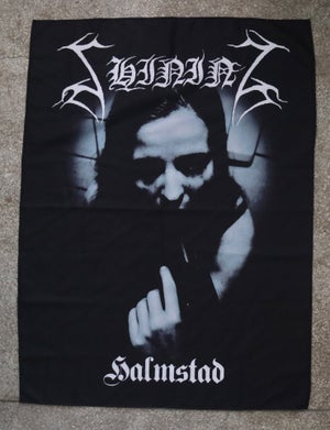 "Image of Shining ""Halmstad"" wall flag"
