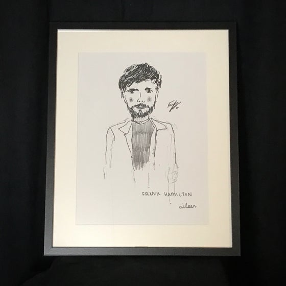 Image of Signed, Framed Album Art Print