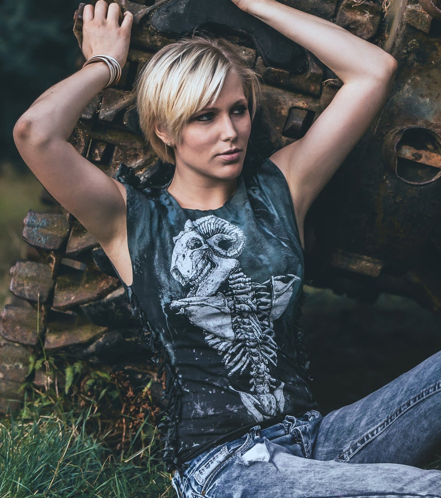 Image of Distressed Ram Tank Top