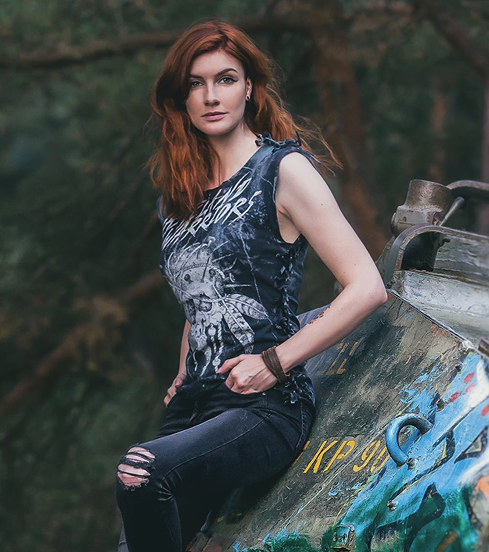 Image of Distressed Wasteland Warriors Tank Top