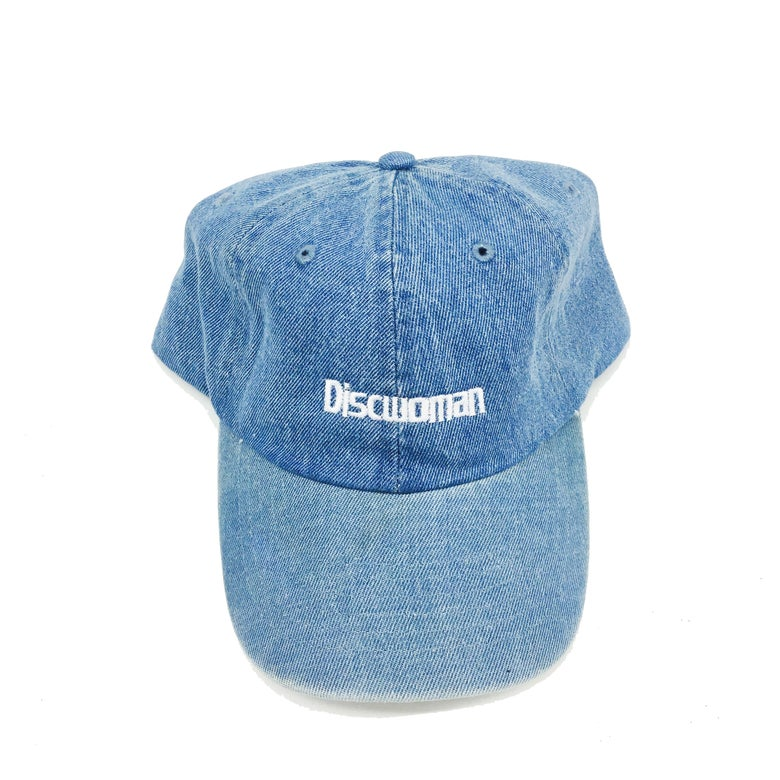 Image of DENIM DW EMBROIDERED LOGO HAT