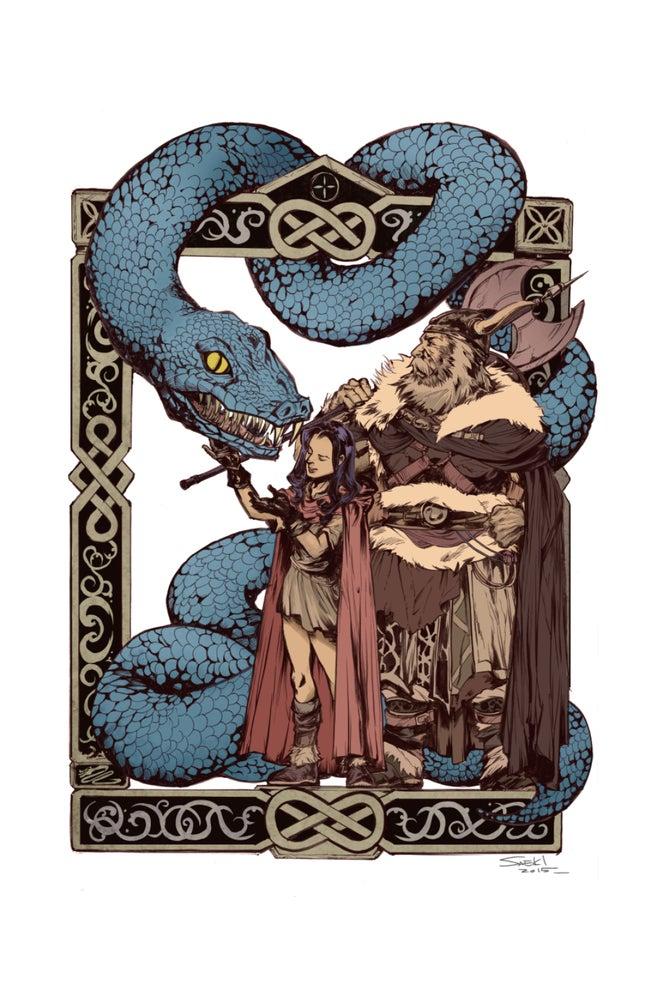 Image of Children of Loki Art Print