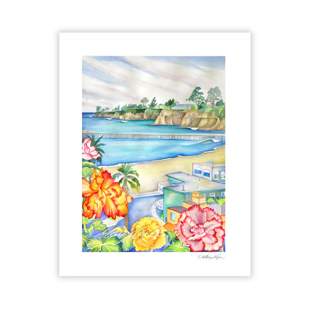Image of Capitola View, Archival Paper Print