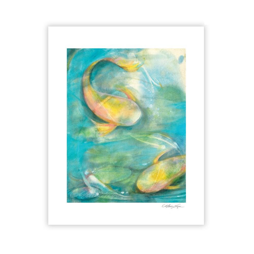 Image of Koi Fish, Archival Paper Print