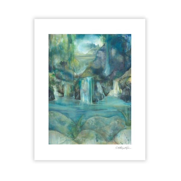 Image of Waterfalls, Archival Paper Print
