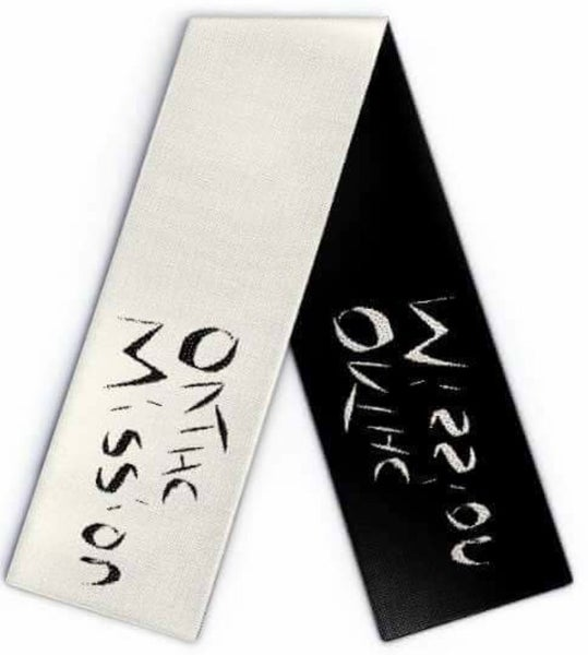 Image of OnTheMission Black and White scarf