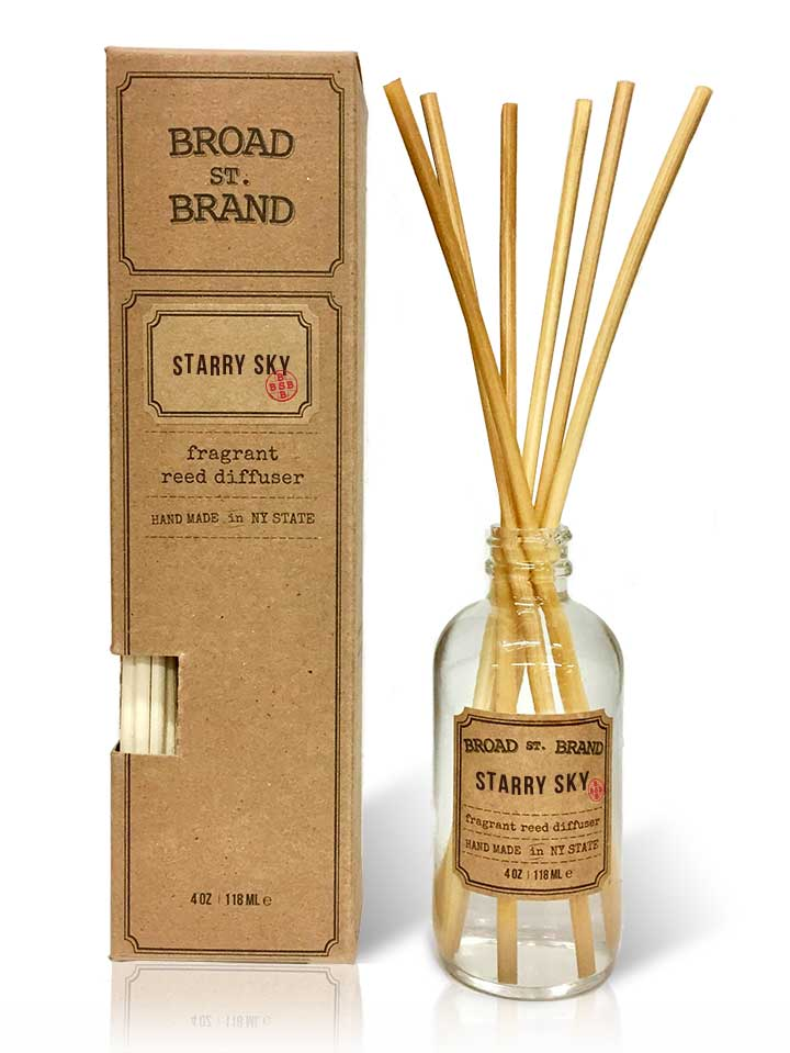 Product Reed Diffuser ~ Broadstbrand — starry sky reed diffuser