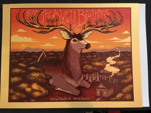 Image of Avett Brothers - Charlottesville, VA - October 30th, 2016 - Gold Variant