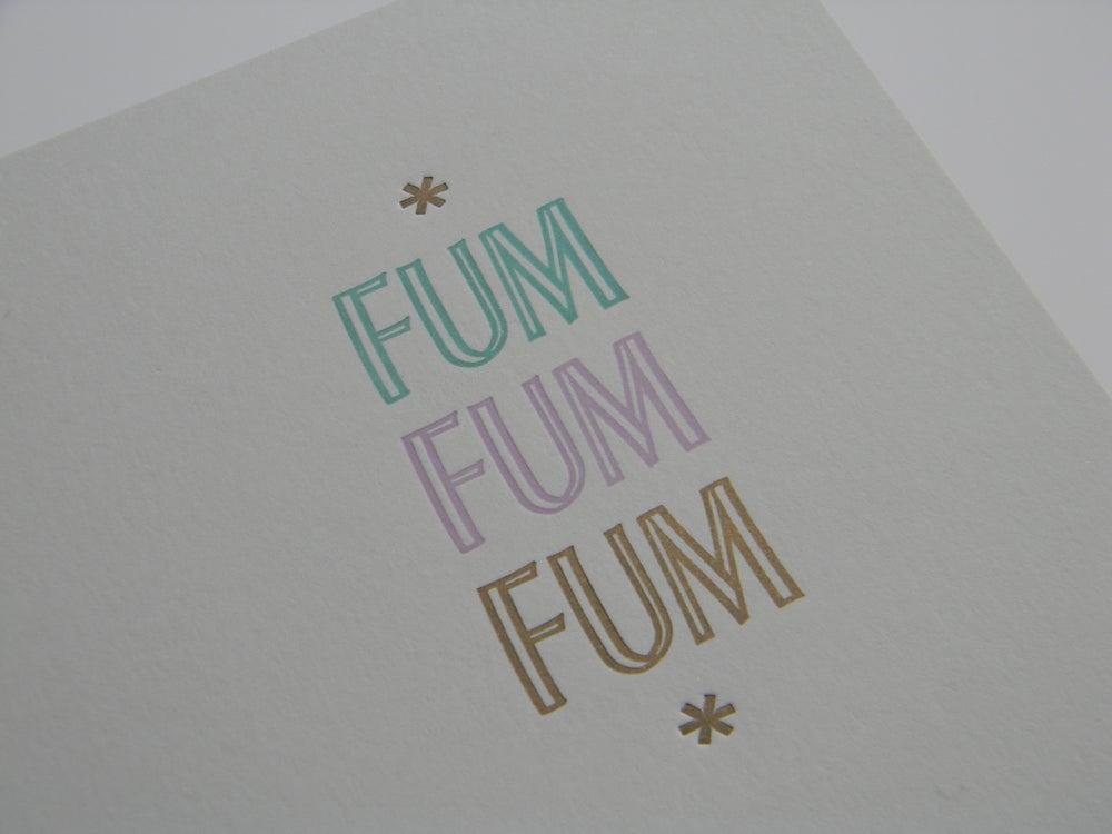 Image of Fum, fum, fum