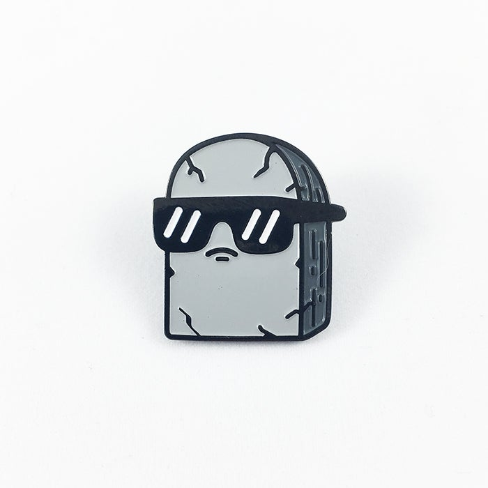 Image of Cool Tombstone | Enamel Pin