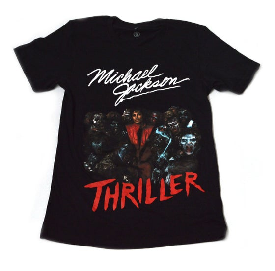 Image of Michael Jackson Thriller Short Sleeve