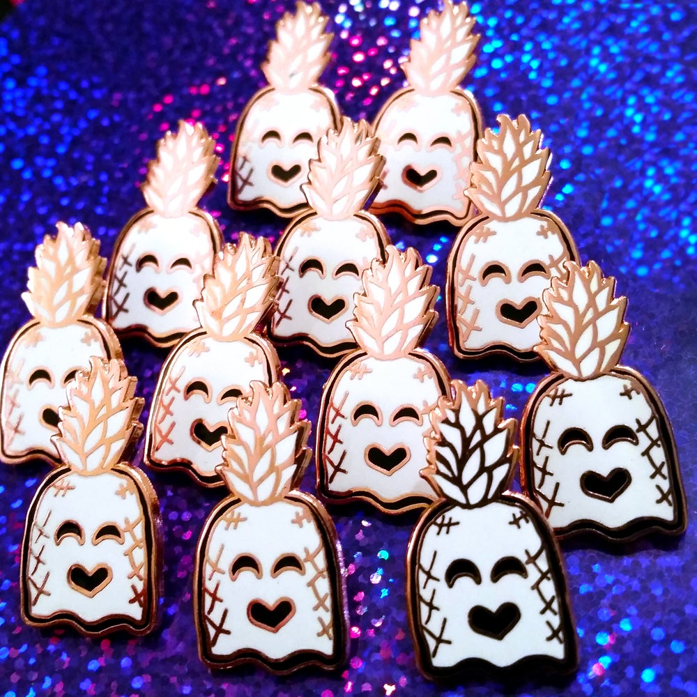Image of Pineapple Ghost Pin