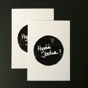 Image of Joulukortti - Hyvää Joulua!, KAVERINI designs