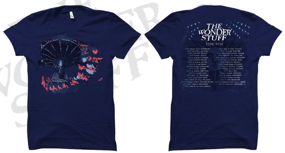 Image of All 2016 Tour Dates T-Shirt