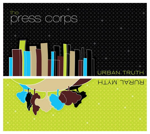 Image of FR026 The Press Corps Urban Truth, Rural Myth CD