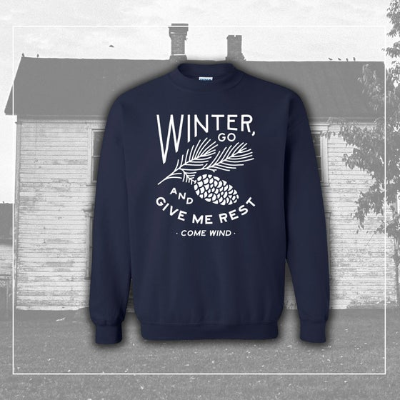 """Image of """"Winter"""" Crew Neck Sweatshirt"""