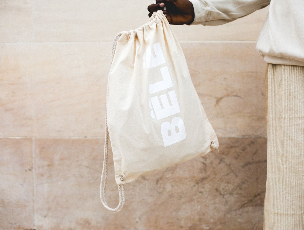 Image of BËLË BAG - WHITE LOGO