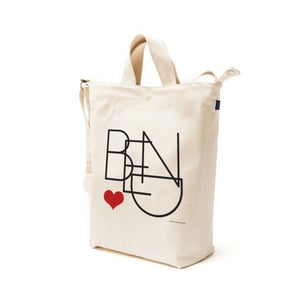 Image of Bend Heart Duck Tote Bag