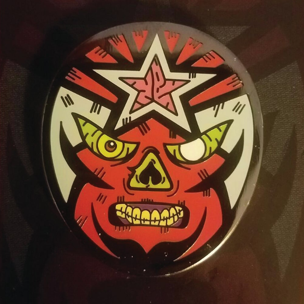 Image of Limited Edition - Masked Repubic Zombie Lapel Pin