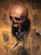Image of Shawn Barber -'Vanitas (Homage to Greg Irons), Limited Edition Print / NO OVERSEAS SHIPPING