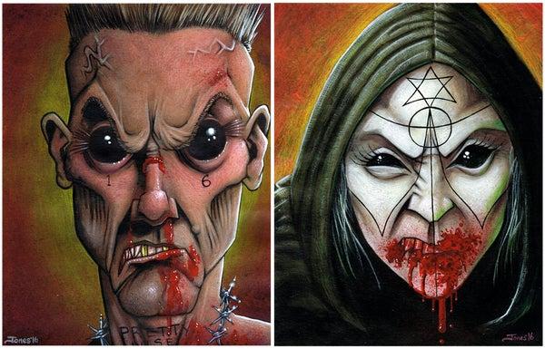 Image of 'Die Antwoord' Art Print Pack