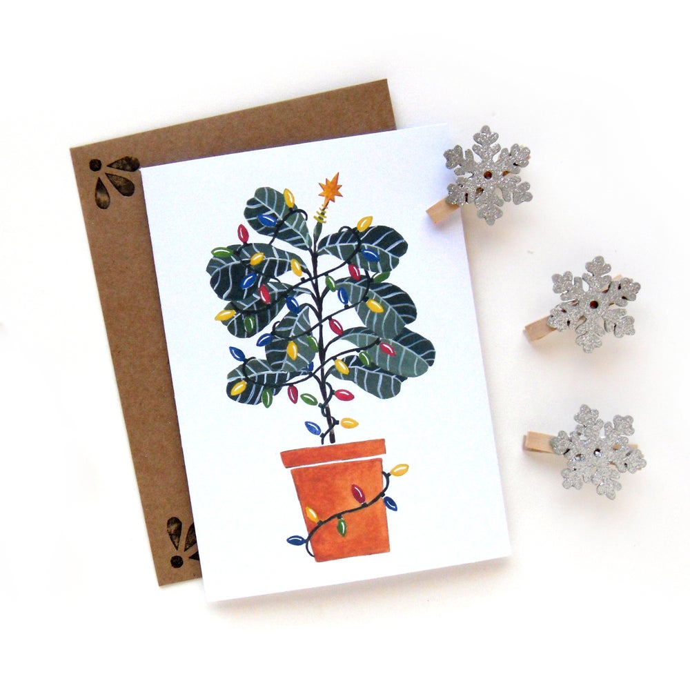 Image of Fiddle Leaf Fig Card