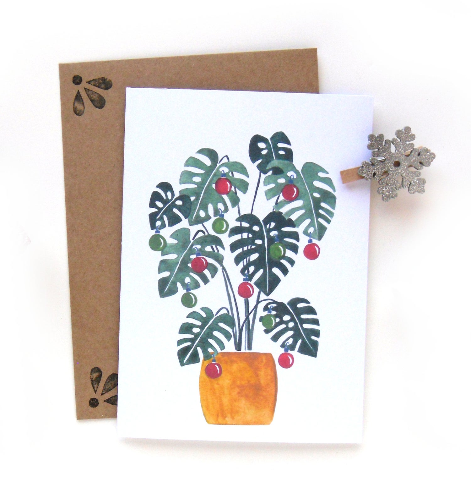 Image of Monstera Deliciosa Card