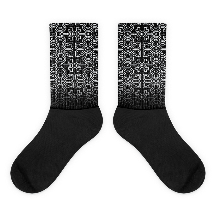 Image of Shipibo Socks - Monochrome