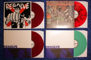 "Image of Resolve ""Won't Stand By"" LP"