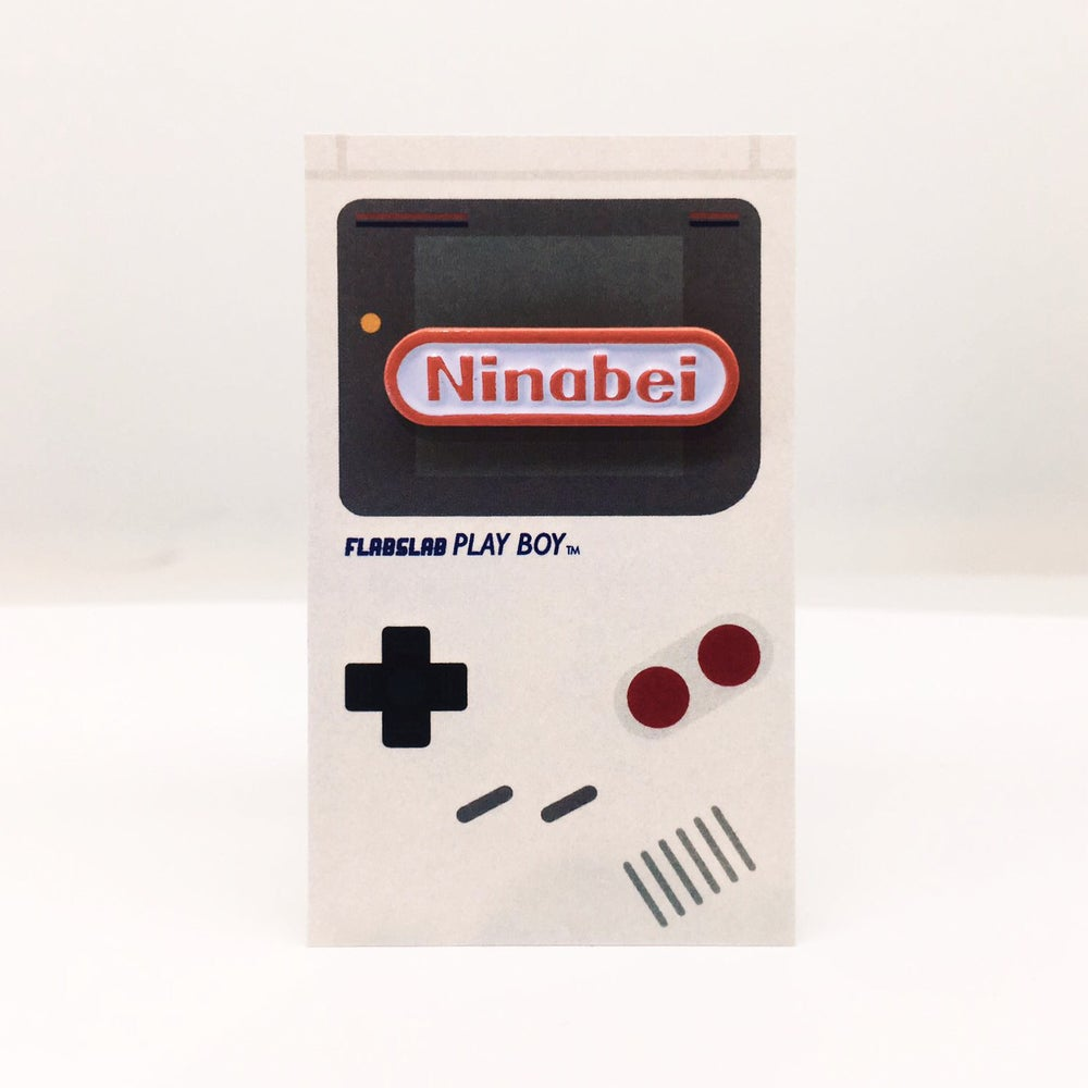 Image of Ninabei enamel pin