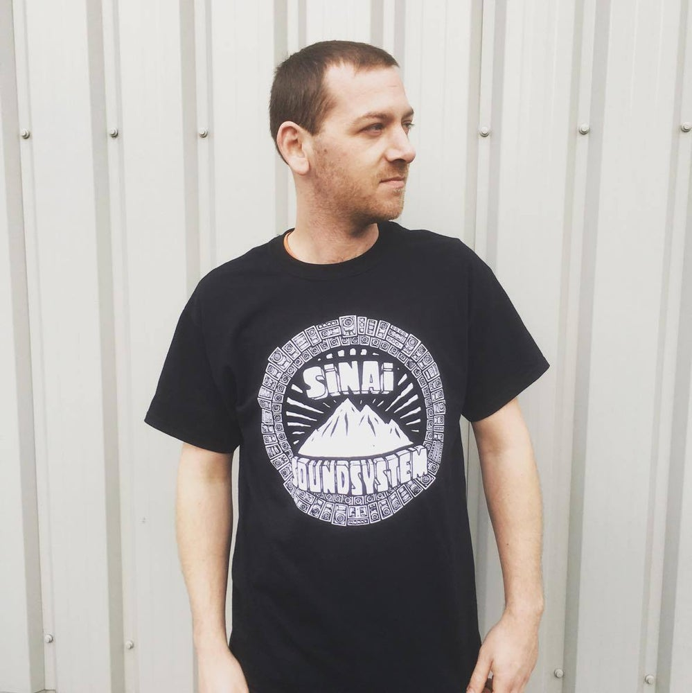 Image of Sinai Sound x Tribes T-Shirt - Black