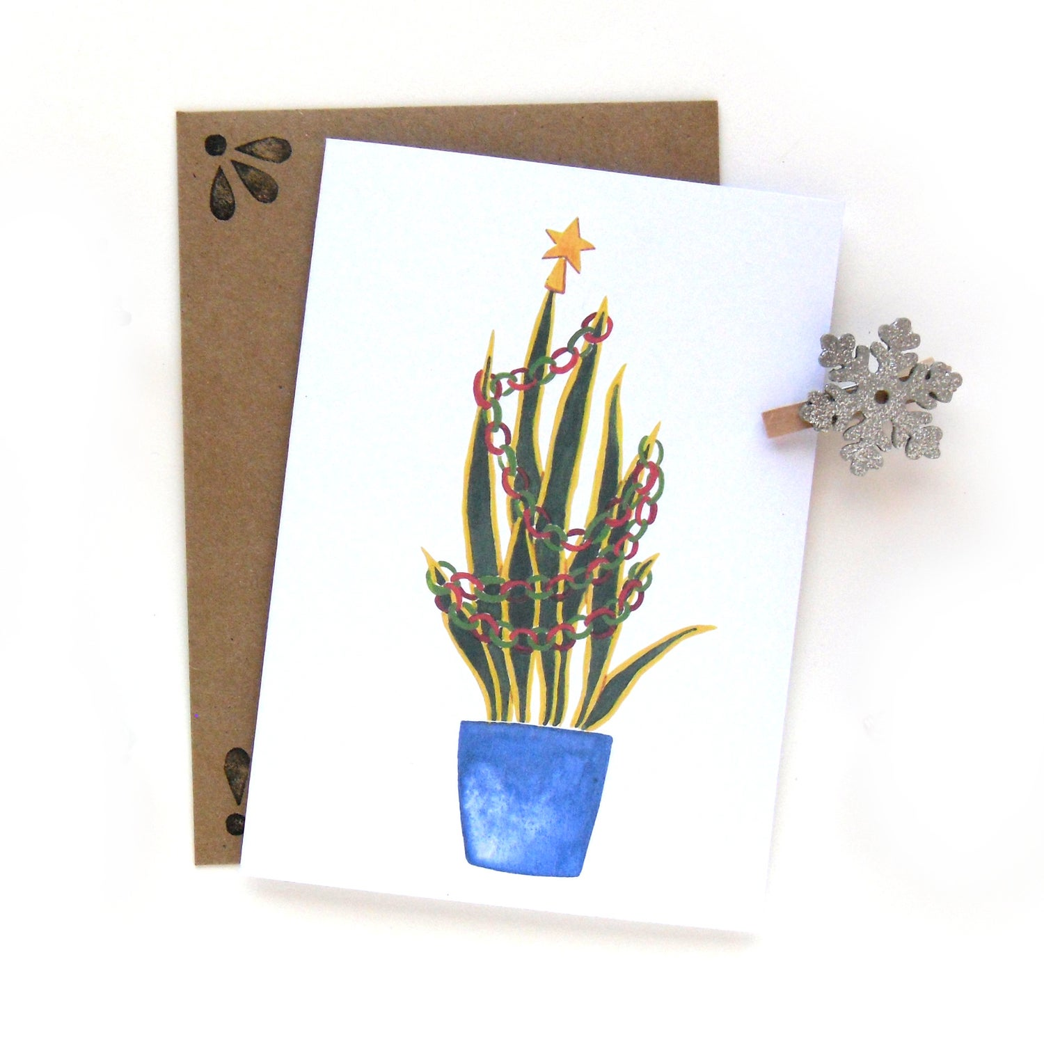 Image of Snake Plant Card